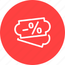 discount, money, price, reduced, sale, sales, webshop icon
