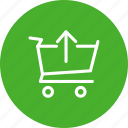 basket, cart, checkout, order, shop, shopping, webshop icon