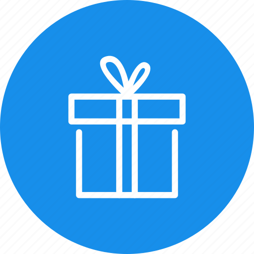 birthday, box, christmas, gift, package, present, wrap icon