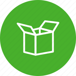box, delivery, open, pack, package, shipping, unbox icon