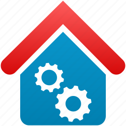 building, construction, factory, garage, industry, office, service icon