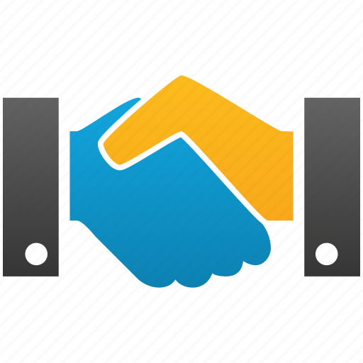 agreement, business, contract, hand, handshake, meeting icon