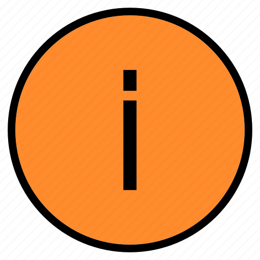 circle, data, help, info, information, service, support icon