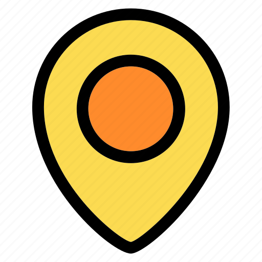 direction, gps, location, map, marker, navigation, pin icon