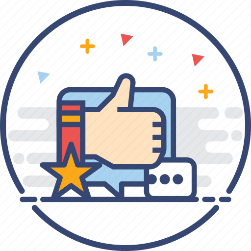 feedback, icons, rating, thumb up icon