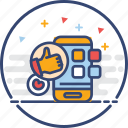 app, business, icons, social media icon