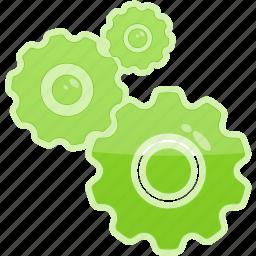 gear, options, preferences, settings, setup icon