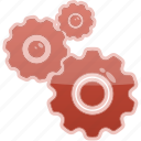 preferences, setup, gear, settings, options icon