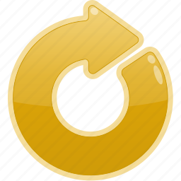 arrow, restart, right icon
