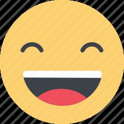 emoji, emoticon, emotion, happy, mood, smile, smiley icon