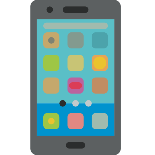 Android App Communication Interaction Mobile Phone Icon