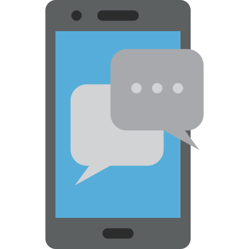 chat, chatting, letter, message, mobile, phone icon