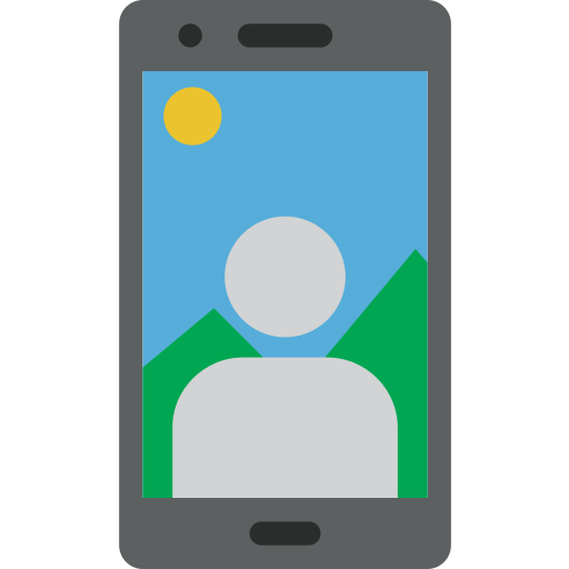 call, mobile, phone, selfie, smartphone, telephone icon