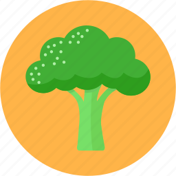 broccoli, cook, diet, greens, health, vegetable icon