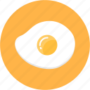 blackfast, brunch, cook, egg, fried egg, kitchen icon