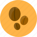 bean, cafe, coffee, coffee beans icon
