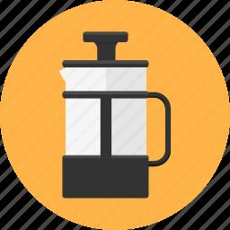 beverage, cafe, coffee, drink, kettle, kitchen icon