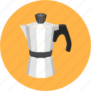 cafe, coffee, dessert, espresso, kettle, restaurant icon