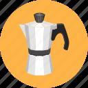 cafe, coffee, dessert, espresso, kettle, restaurant