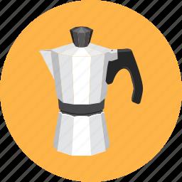 cafe, coffee, dessert, espresso, kettle, restaurant icon