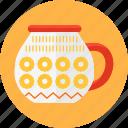 coffee, cup, kitchen, mug, pattern, soup, tea