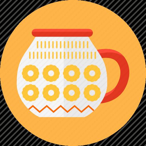coffee, cup, kitchen, mug, pattern, soup, tea icon