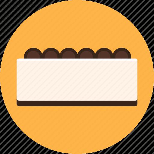 bakery, cafe, cake, cheese cake, dessert, gateau icon