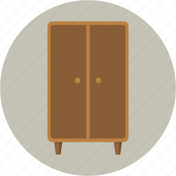 bedroom, closet, clothes, dressroom, furniture, wardrobe icon