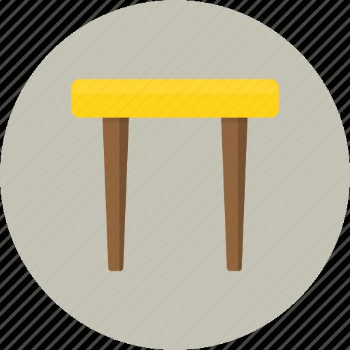 chair, furniture, seat, sit, stool icon