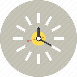 afternoon, clock, hour, time, wall, work icon