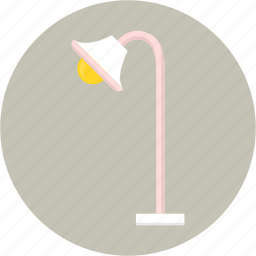 bedroom, bulb, illumination, lamp, light, lighting, living room icon