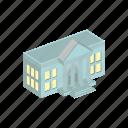 bank, building, finance, isometric