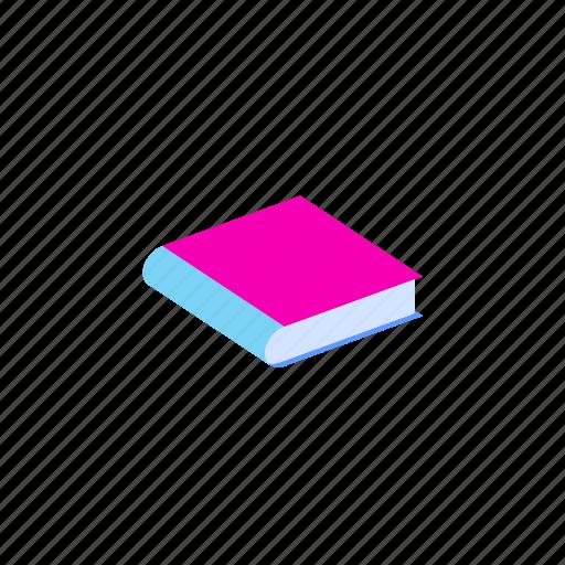 book, isometric icon