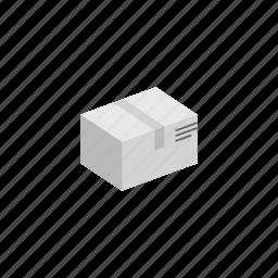 box, delivery, isometric icon