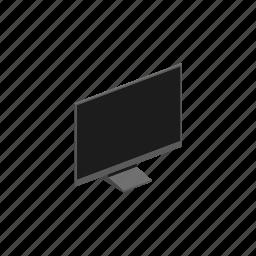 display, interior, isometric icon