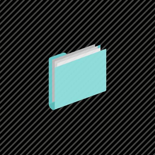 folder, full, isometric icon