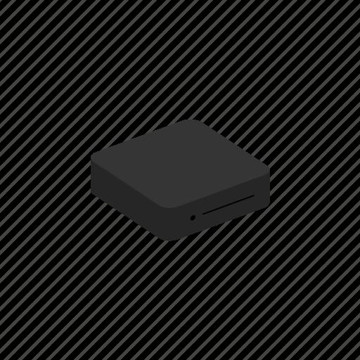 device, isometric, mini, pc icon