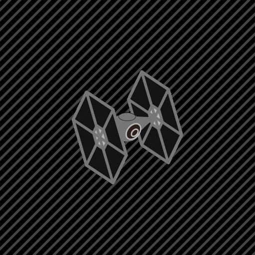 fighter, star wars, tie, war icon