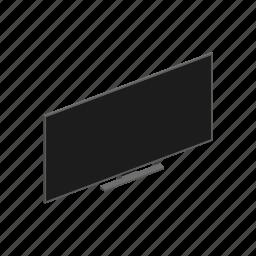 device, interior, isometric, television, tv icon