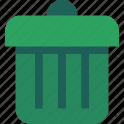 bin, delete, recicle icon
