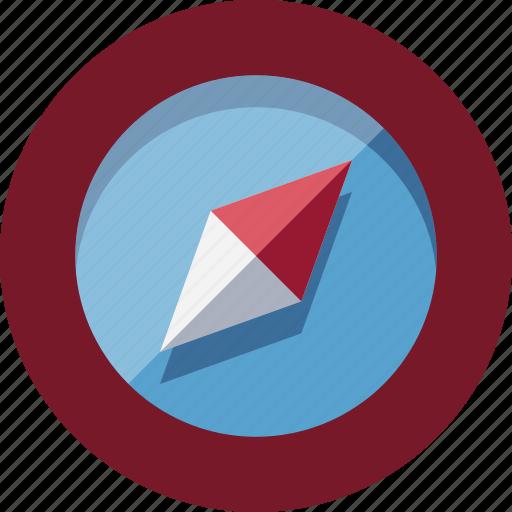 compass, gps, location, travel icon