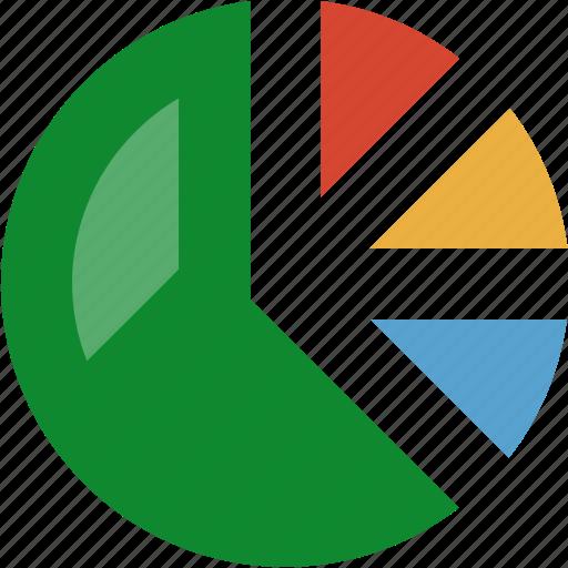 finance, graph, statistics icon