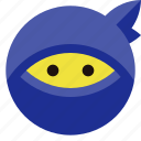 incognito, ninja, privacy icon