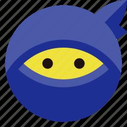 incognito, ninja, privacy icon