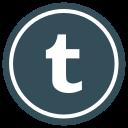 media, multimedia, network, social, tumbler, web icon