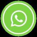 bubble, communication, media, messenger, social, talk, whatsapp icon