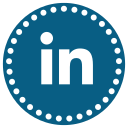 business, connections, job, linkedin, network, profile, work icon