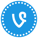communication, connection, media, network, social, vimeo icon