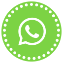 bubble, communication, media, messenger, social, talk, whatsapp icon