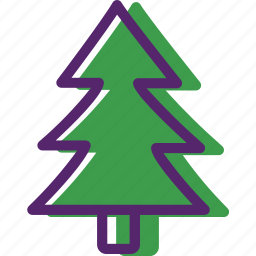 christmas, green, presents, santa, tree, xmas, xmas tree icon